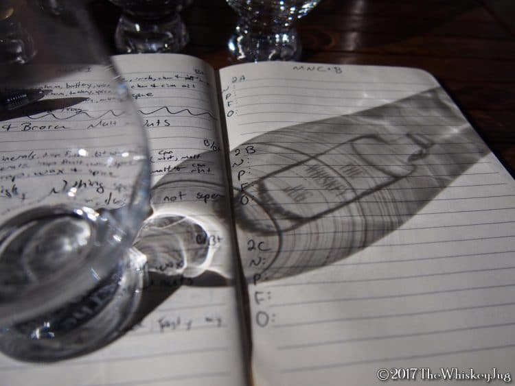 The Whiskey Jug Logo - BW Glass