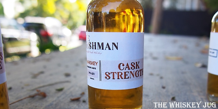 The Irishman Cask Strength Label