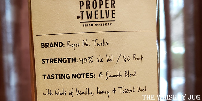 f954fe177 Proper Twelve Irish Whiskey Review - The Whiskey Jug
