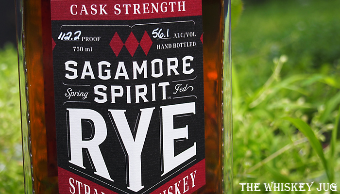 Sagamore Spirit Rye Cask Strength Label