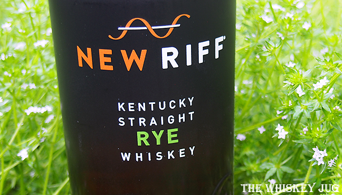 Label for the whiskey being reviewed