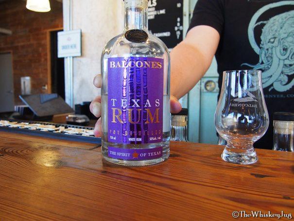 Balcones Texas white rum