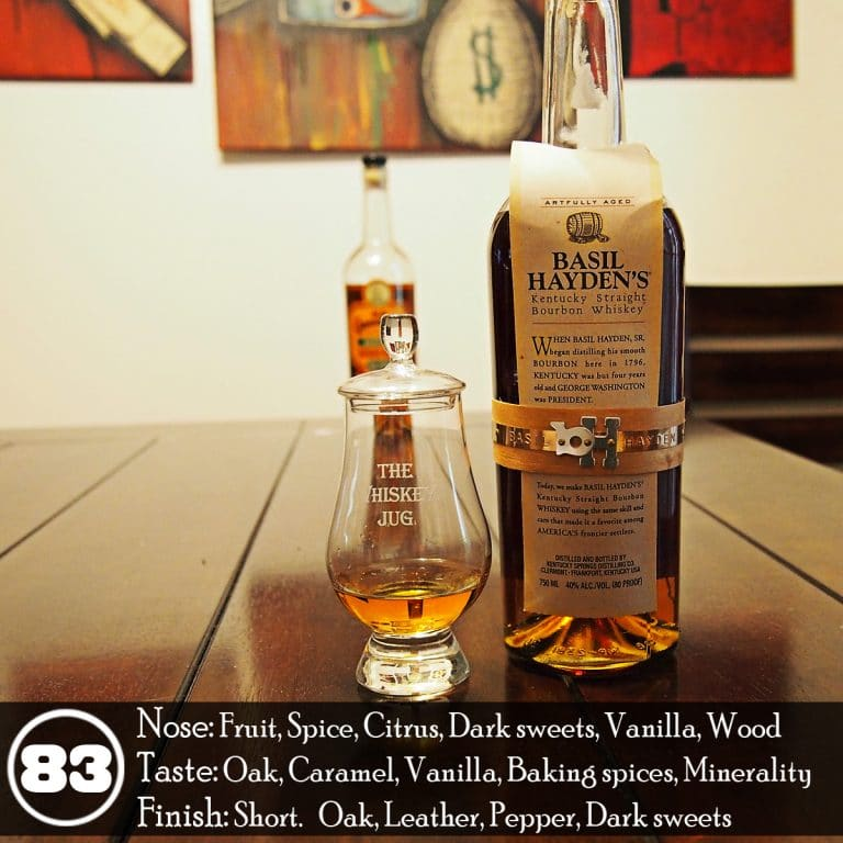 Basil Hayden's Bourbon Review - The Whiskey Jug