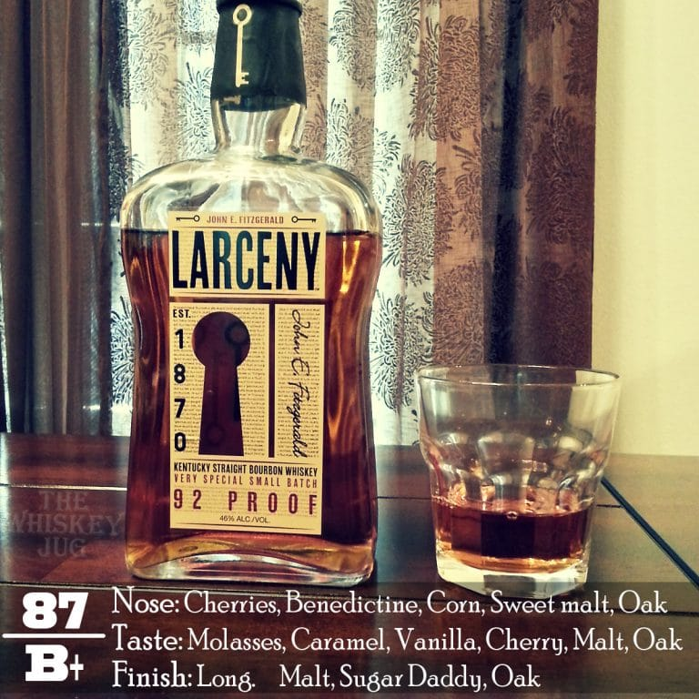 Larceny Bourbon Review The Whiskey Jug
