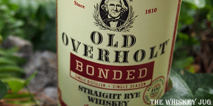 Old Overholt Bonded Review The Whiskey Jug