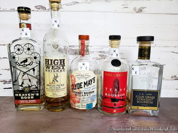 SCWC - 20 Blind Bourbons - 1