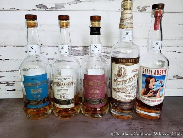 SCWC - 20 Blind Bourbons - 2