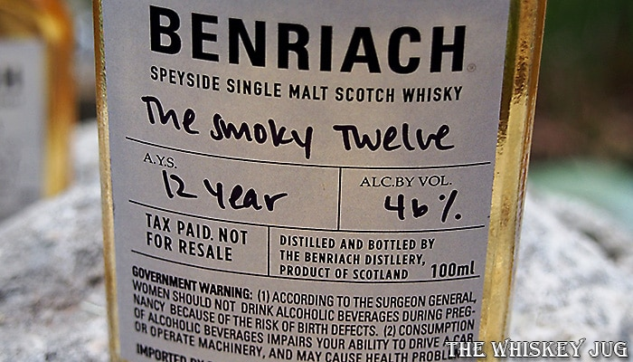 BenRiach Smoky Twelve Label