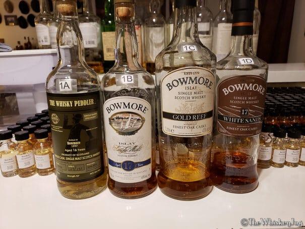 Malt Nuts - ex-Bourbon Bowmore Tasting - Round 1