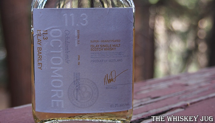 Octomore 11.3 Label