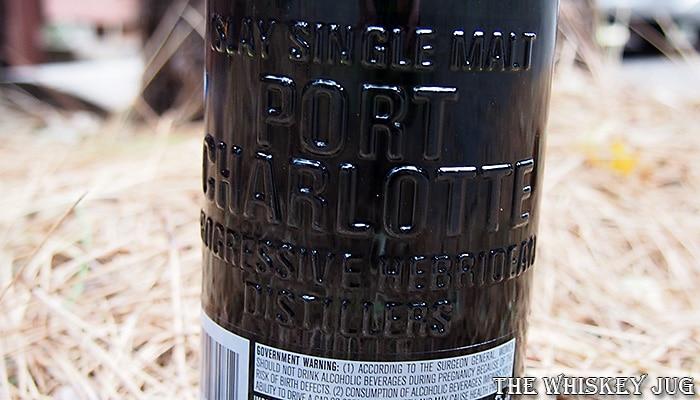 Port Charlotte Islay Barley 2012 Back Label