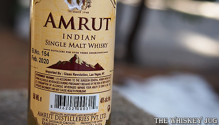 Amrut Classic Indian Single Malt Label